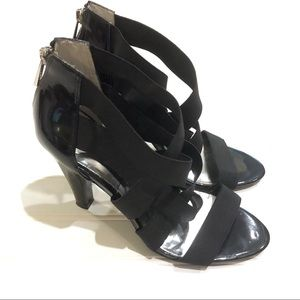 JESSICA SIMPSON Deluth Black Heels Shoes